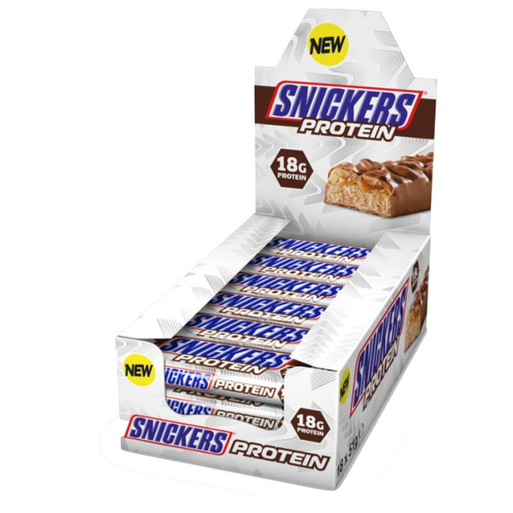 Snickers Protein Bars 18 x 51g