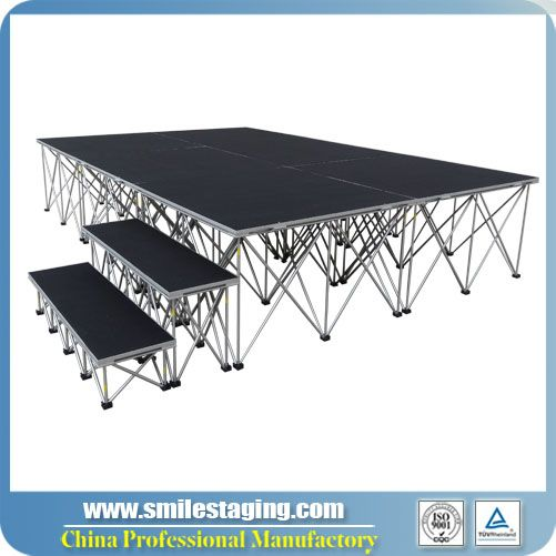 Portable stage | Folding stage | Pipe& Drape wholesale |