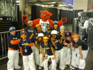 Rokalot Dance Krew dancing for Paw Patrol @ Charlotte Bobcats Game