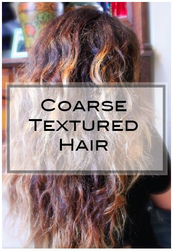 Coarse Textured Hair Survival Guide One Hair Textured