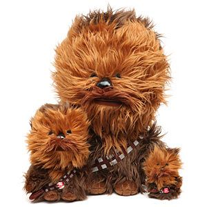 I got this little guy for Christmas! There's nothing cuter that a fluffy, mini Chewbacca :)