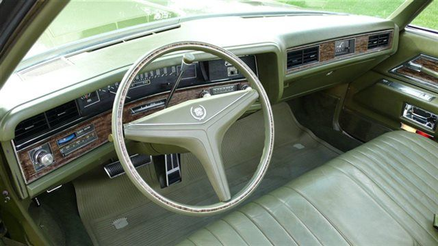 1971 Cadillac Eldorado Interior Trim - Automotive Mileposts