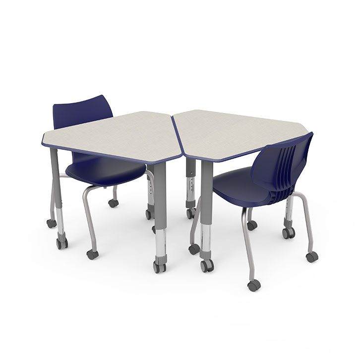 apex x height desk series adjustable products student triangle