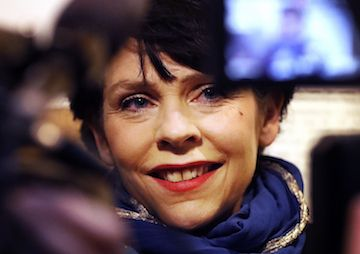 Truthdigger of the Week: Birgitta Jónsdóttir, Iceland's Pirate Party Founder | Her devotion to social change and progressive causes helped her party triple its number of seats in the country's recent parliamentary elections.  - 2016/11/05