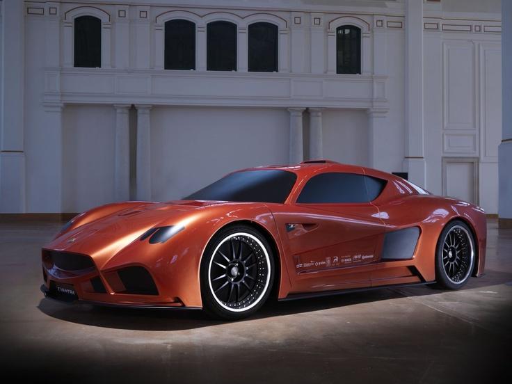 "Superleggera III Forged 20"" on ""Mazzanti Evantra"" Concept Car - Wood Model scale 1:1 #OZRACING #TOPCLASS #SUPERLEGGERA #FORGED #RIM #WHEEL"