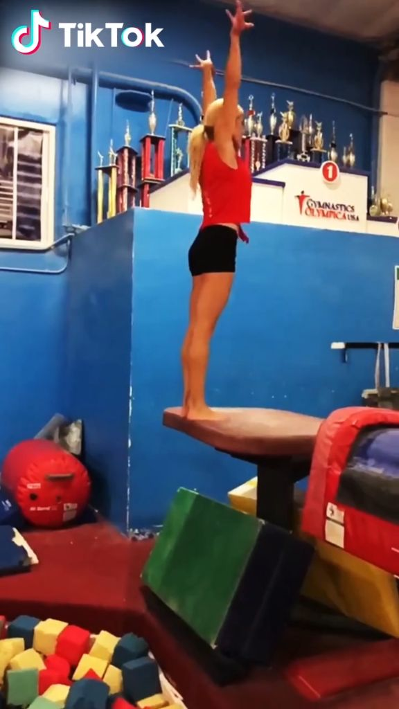 Gymnastics! Get inspired by the world on #TikTok today! Download now to watch more funny videos. Create, share and make every second count.