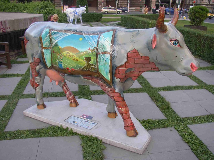 1000 images about cow parade on pinterest prague for Design parade milano