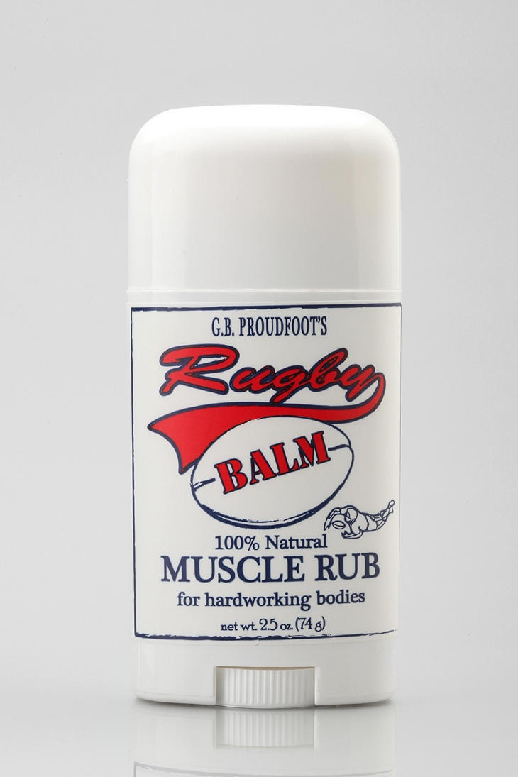 G.B. Proudfoot Rugby Muscle Balm  #UrbanOutfitters