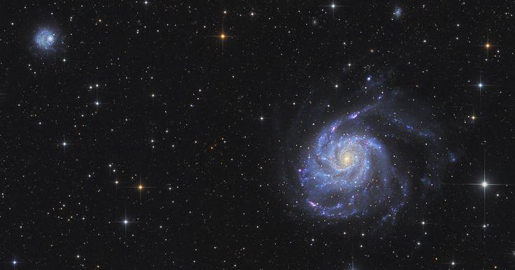 Die Feuerradgalaxie Messier 101