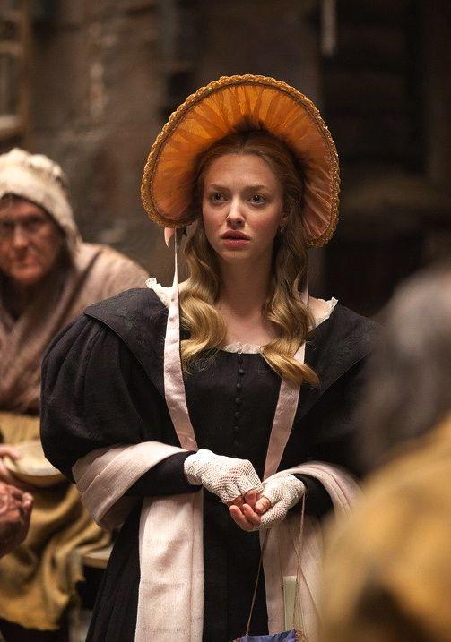 Amanda Seyfried as Cosette inLes Misérables (2012).