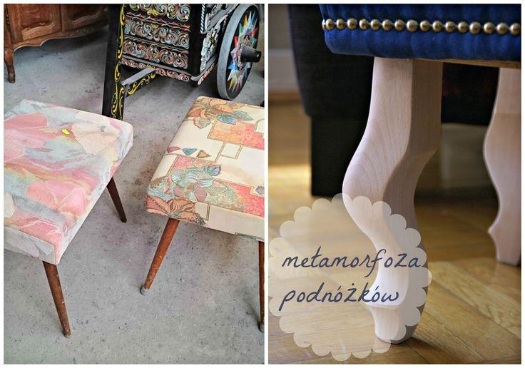 how to reupholster a footstool  obicie i metamorfoza podnóżka diy