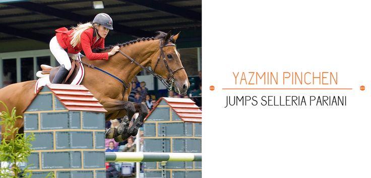 Yazmin Pinchen - jumps #SelleriaPariani