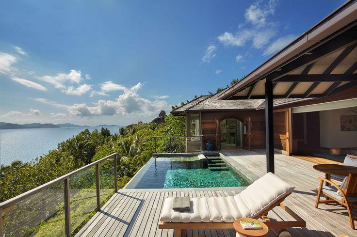 Le Six Senses Zil Pasyon sur l'île Félicité aux Seychelles