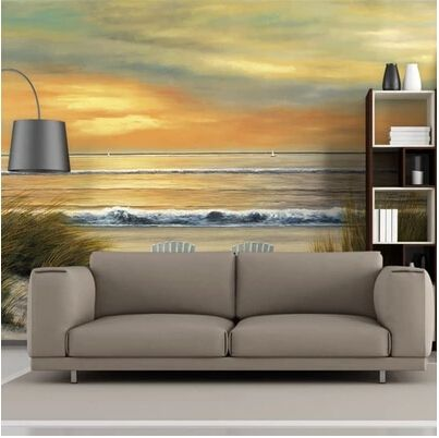 30.00$  Buy now - http://aliso7.shopchina.info/go.php?t=32297766169 - Customization of European painting large murals, the living room TV background bedroom wallpaper contact paper sea blue sky 30.00$ #SHOPPING