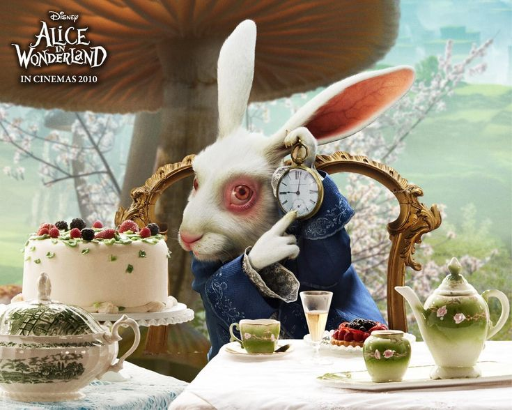 Our favourite film -Tim Burton's Alice in Wonderland