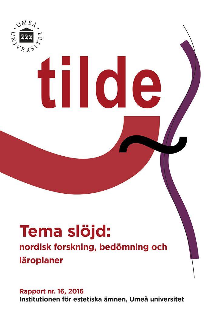Institutionen för estetiska ämnens publikationsserie heter Tilde, (~)och ges ut av institutionens vetenskapliga råd. Namnet Tilde kommer från spanskan, ursprungligen från latinets titulus, en typ av romerska inskriptioner på sten. ~ är också ett diakritiskt, särskiljande, tecken som förändrar en bokstavs uttal eller betoning. Namnet på serien kan därför sägas representera en gemensam ambition, att göra skillnad genom de texter som publiceras. Med Tilde-serierna vill vi erbjuda våra…