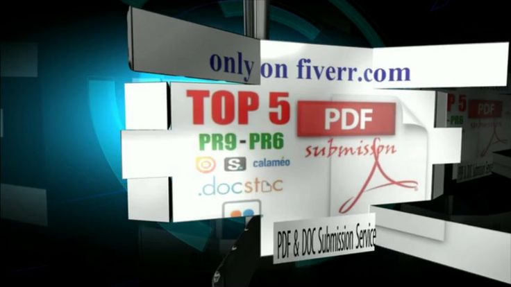 whitehatseo10: convert your Article into PDF file and Manually Submit on PR9 to PR6 Doc sites for $5, on fiverr.com - White Hat SEO Services - #WhiteHatSEO #SEO