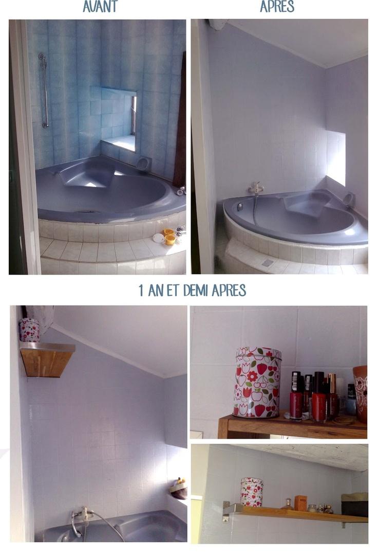 1000 id es sur le th me peindre salle de bain sur for Peindre salle de bain