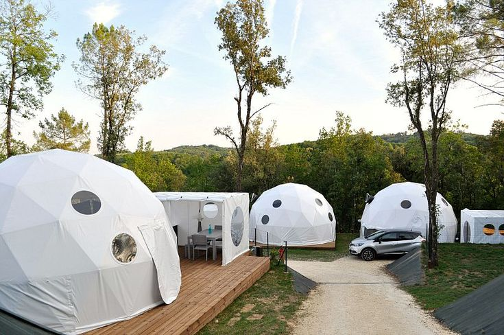 LUXURY CAMPING GEO DOMES IN THE DORDOGNE WITH GLISTEN CAMPING