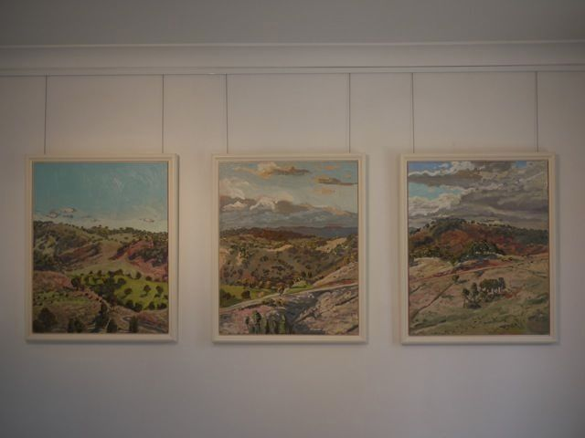 Lucy Culliton Hartley Landscape triptych