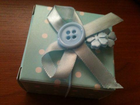 Küçük hediyelikler için hoş bir kutu