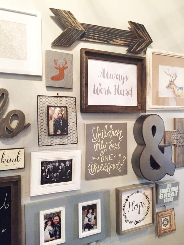 nice 170+ Family Photo Wall Gallery Ideas   Decoration ...