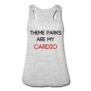 ThemeParkHipster Workout - Women's Flowy Theme Park Tank Top