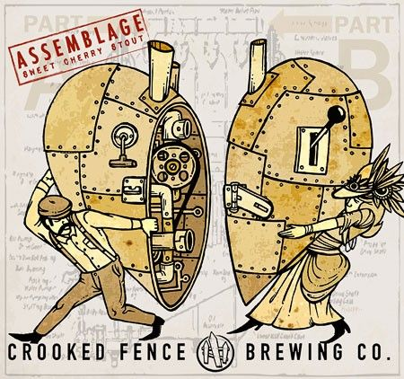 Crooked Fence Assemblage Label
