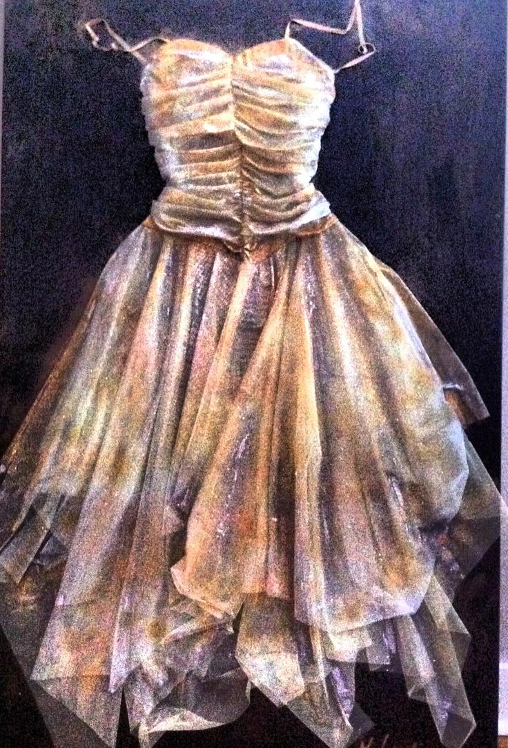 The Prom -- 60x40 mixed media --Marie Lardino