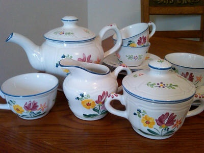 Herend Village Pottery Hand Painted