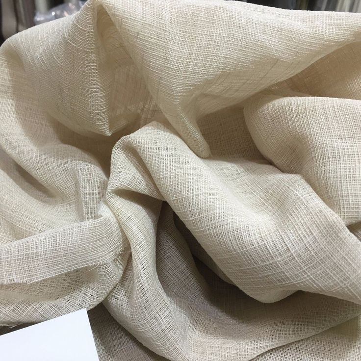 5.3 m PEBBLE Linen Look Sheer Curtain  Fabric -Maurice Kain bestseller Danehill in Home & Garden, Curtains & Blinds, Curtains | eBay