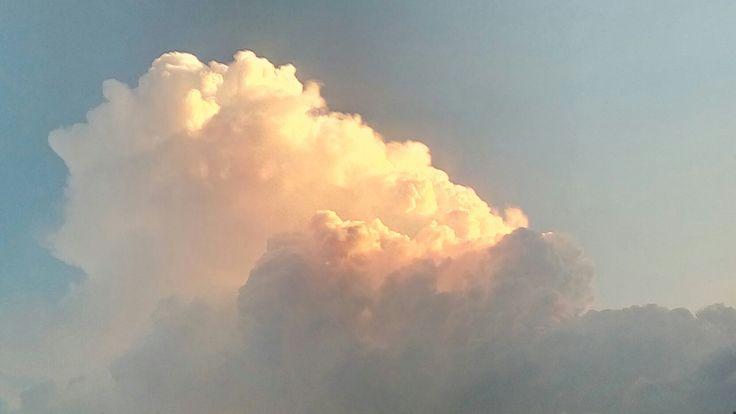 Clouds +sunset