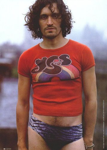 vincent gallo - there's something skeevy, yet hot about him.  Though the dodgy banana hammock is a little disturbing...