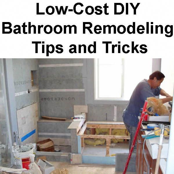 Low-Cost DIY Bathroom Remodeling Tips for New Homeowners ...