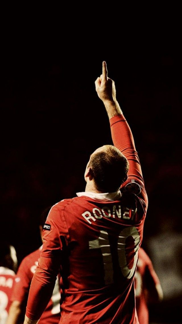 Wayne Rooney, Manchester United , club, football | iPhone Backgrounds