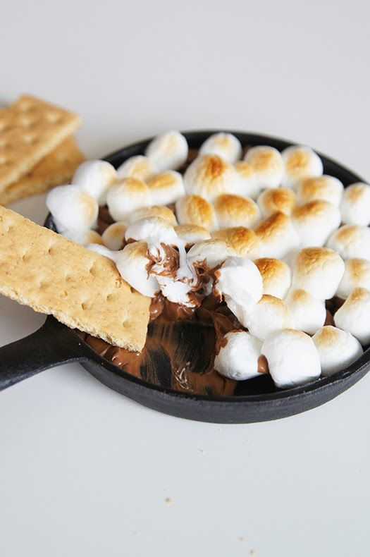 Butter, with a side of Bread // Easy family recipes and reviews.: S'MORES IN THE OVEN