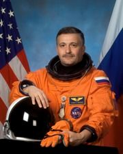 Fyodor (Theodoros) Yurchikhin-Grammatikopoulos.Born in Batumi, Georgia, in 1959, the cosmonaut of Greek decent on his mother's (Mikroula Grammatikopoulou-Yurchikhina) side, has so far flown on three spaceflights, performed 8 Extravehicular Activities, and has spent more than 500 days in space.