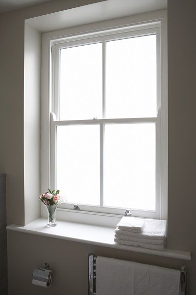 Replacement timber window - Mansion Apartment, North West London. The Sash Window Workshop