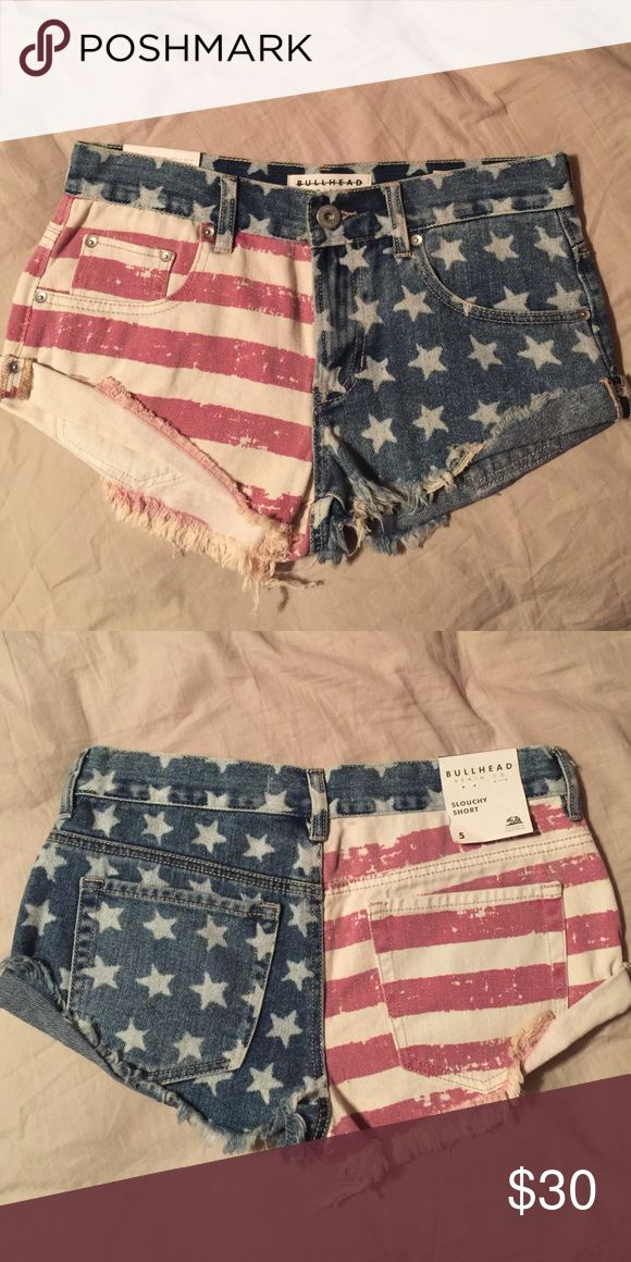 Bullhead AMERICAN Shorts Size 5, Brand new! ❌NO trades Bullhead Shorts Jean Shorts