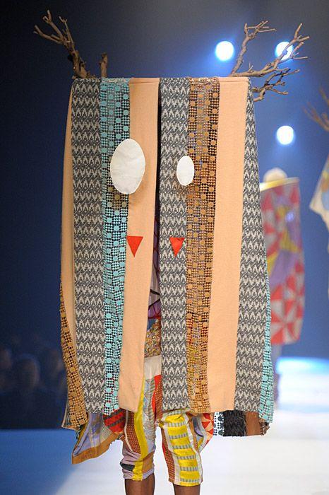 Claire Michel collection royal academy of fine arts antwerp, patchwork horn monster Sprayfun