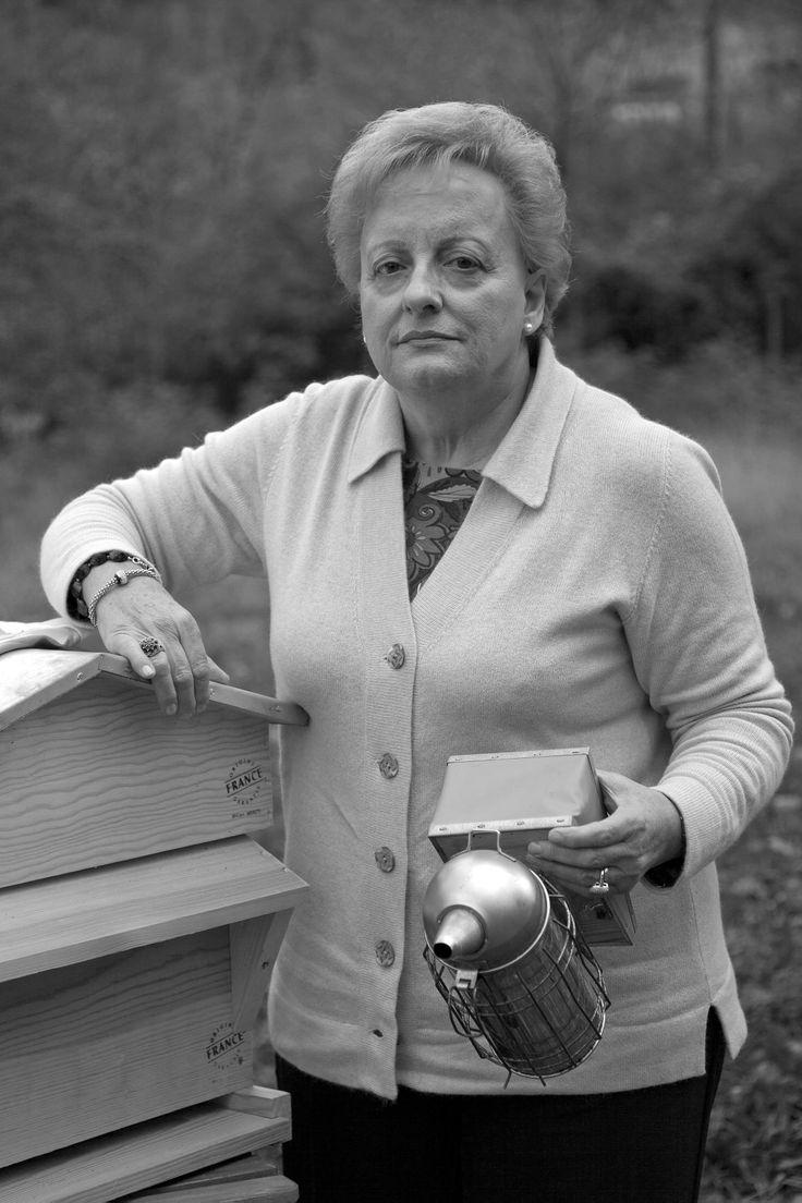 Rosalba, apicoltrice a Lucca