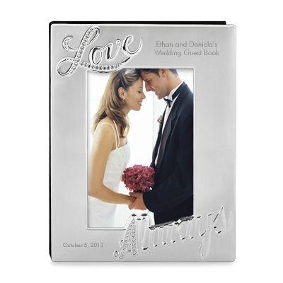 """""""Love Always"""" Guest Book #Wedding gift"""