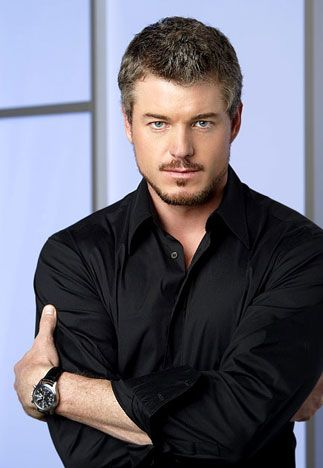 It's all about the color Black .. Sexy black ..Eric Dane