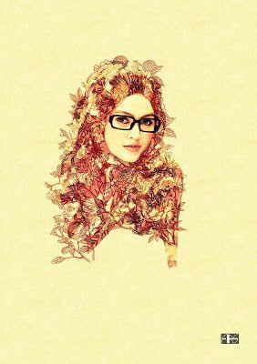 My Fashion Illustrations: Hijab Illustration