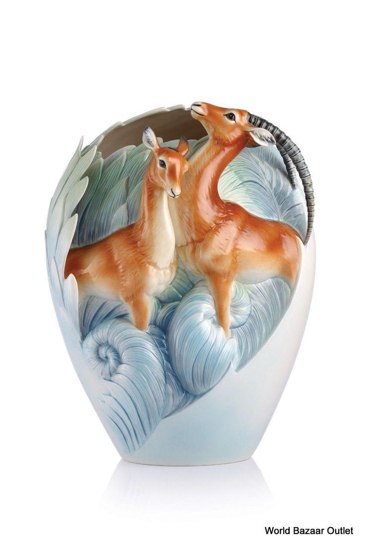 170 best franz porcelain images on pinterest fz02875 franz porcelain partnership impalas design large vase new reviewsmspy
