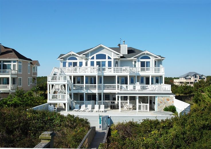 Twiddy Outer Banks Vacation Home Miss Bee Haven Corolla Oceanfront 10 Bedrooms Outer