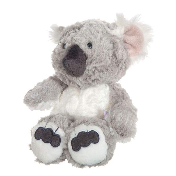 Nici peluches online. Peluche koala Kaola de Nici. Colección Wild Friends. Suave al tacto y original diseño. Calidad en los materiales. Medidas 25x17x12 cms.