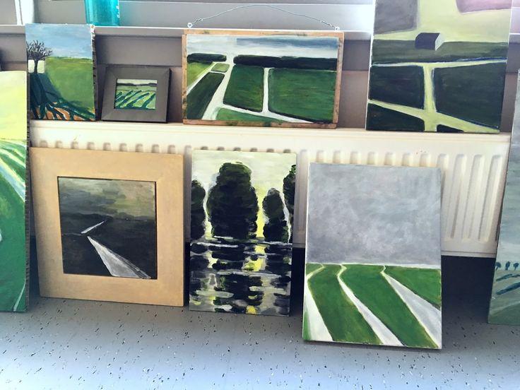 """:  process of """"1000poot"""" prints, modern quilts, """"slootjesschilder"""" art,  news,  etc..."""