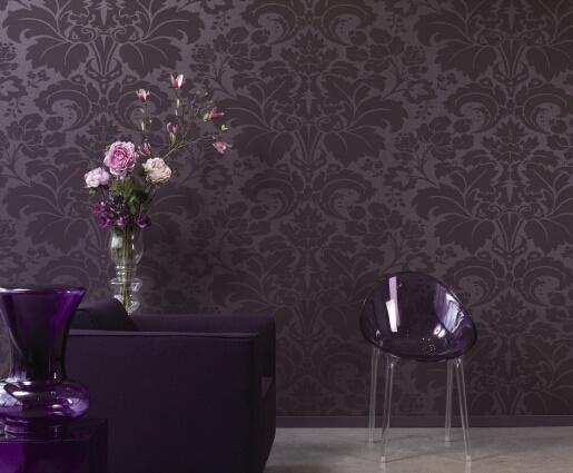Behang Paars Slaapkamer : Mejores 17 imágenes de wallpaper & textiles en pinterest papeles