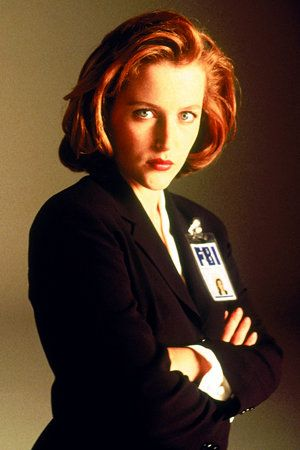Dana Scully - The X-Files Scully's one of my heroes because of her tenacity in fighting for truth against a troubled heart and doubtful mind. She never gives up.